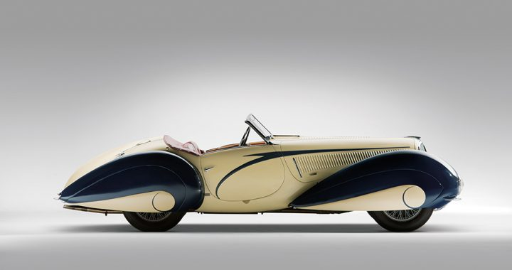 掌上明珠 Delahaye 135 Competition Court Torpedo Roadster