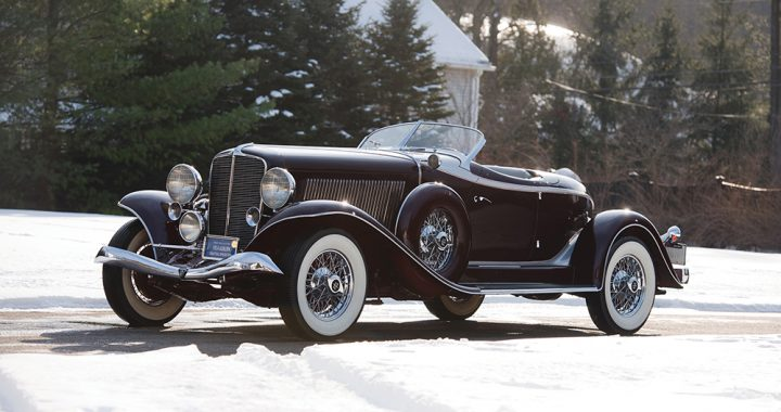 見證紙醉金迷 1934 Auburn Twelve Salon Speedster