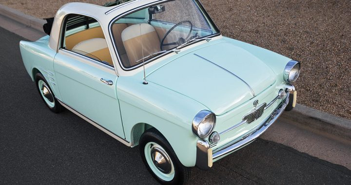 袖珍時尚 1959 Autobianchi Bianchina Transformabile Series II