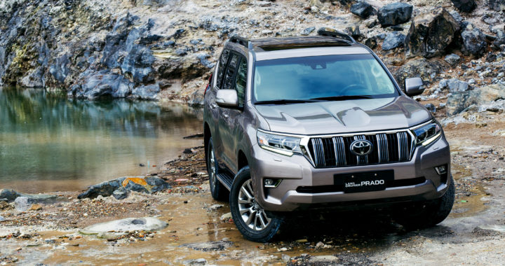 逆境生存者 Land Cruiser Prado V.S. Five Continents drive