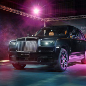 暗夜女神來襲 Rolls-Royce Cullinan Black Badge正式登台