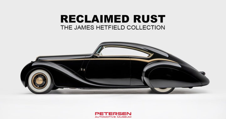美式Hot rod車迷必看! Petersen Automotive Museum將展出Metallica團員個人收藏