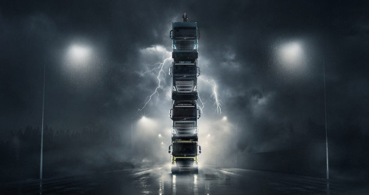 Volvo的力量之塔「The Tower 」