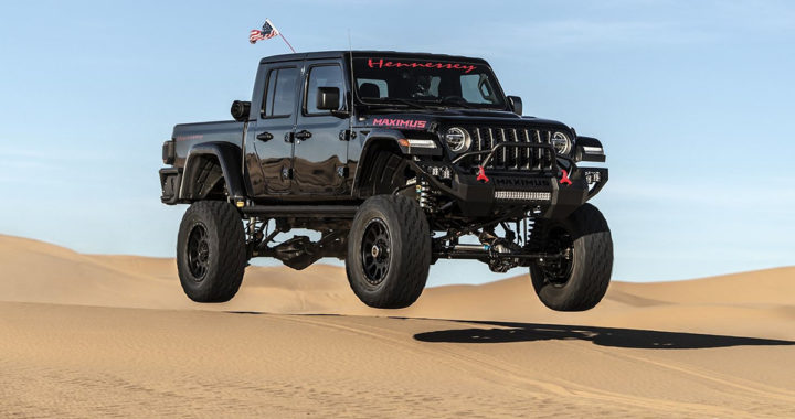 Hennessey用地獄貓打造一千匹馬力的Jeep Gladiator Maximus