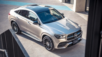 豪華跑旅小改登場  Mercedes- Benz GLE Coupé 上市