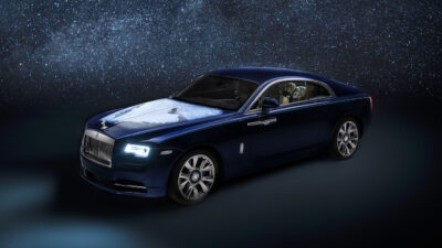"向地球致敬 Rolls-Royce推出Wraith ""Inspired By Earth"""