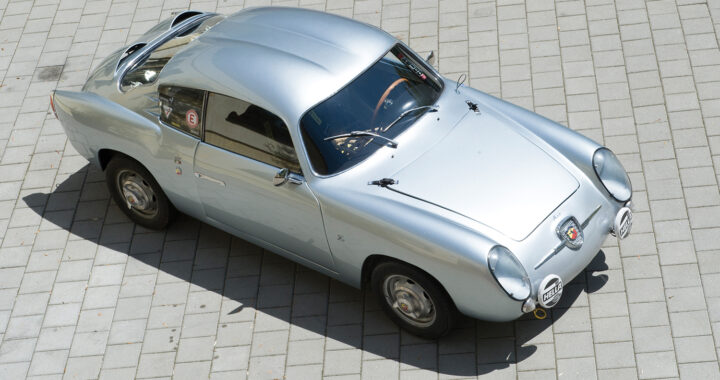"蛇蠍美人 1958 Fiat-Abarth 750 GT ""Double Bubble"" by Zagato"